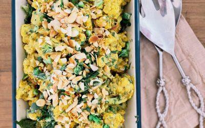 Coronation Cauliflower (Vegan)